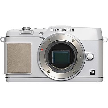 Olympus E-P5 16 MP Digital Camera, White, (11196753)