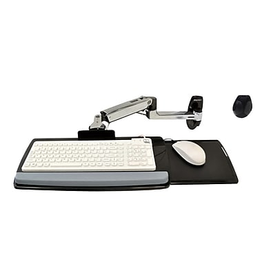 Ergotron® LX Wall Mount Keyboard Arm Support Up to 5 lb.