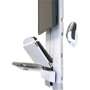Ergotron® Vertical Lift Auto-Retracting Keyboard Kit, White