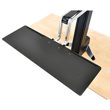 Ergotron® Large Keyboard Tray For WorkFit-S, Black