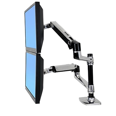 Ergotron® 45-248-026 Flat-Panel Display LCD Arm, 20 lb.