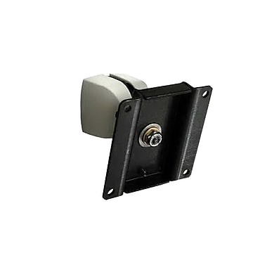Ergotron® 100 Series Single Pivot Wall Mount, Black/Grey