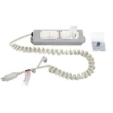 Ergotron® 97-466-214 4 Outlets Medical Grade Power Strip