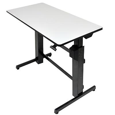 Ergotron 24271926 WorkfitD Surface SitStand Desk Staples
