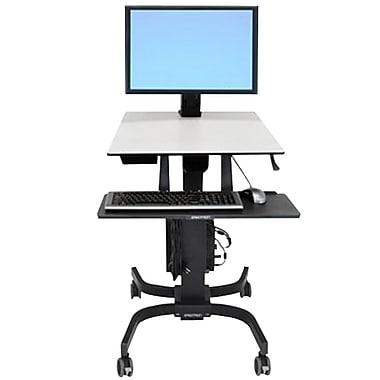 Ergotron® – Poste de travail assis/debout WorkFit-C écran unique LD, 24-216-085