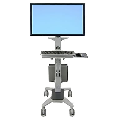 Ergotron® 24-189-055 Neo-Flex® Wide View Workspace Cart For 30