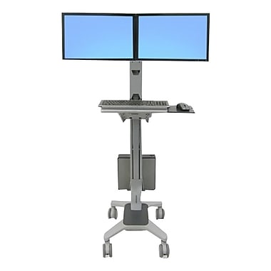 Ergotron® 24-194-055 Neo-Flex® Wide View Workspace Cart For 22
