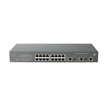 HP® A3100 SI PoE SI Managed Ethernet Switch, 14-Ports