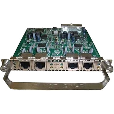 HP® JD553A A-MSR FXS Multi-Function Interface Module, 4-Port