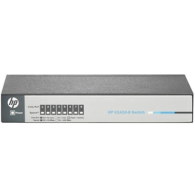 HP® 1410-8 8-Ports Unmanaged 10/100 Fast Ethernet Switch