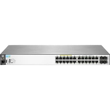 HP® 2530-24G-PoE+ 24-Ports Managed Ethernet Switch
