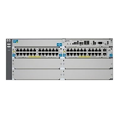 HP® 5406-44G-PoE+2XG v2 zl 44-Ports Managed Switch With Premium Software