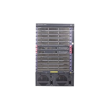 HP® 7510 Manageable Switch Chassis With 2 48-Port Gig-T PoE+ Modules and 768Gbps MPU