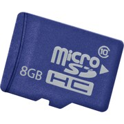 HP® 8GB microSD SDHC (Secure Digital High Capacity) Class 10 Enterprise Mainstream Flash Media Kit