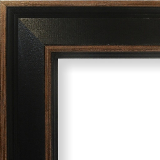 Craig Frames Inc. 2\'\' Wide Painted Wood Grain Picture Frame; 22\'\' x ...