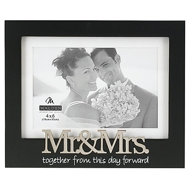 Malden Mr. and Mrs. Matted Express Picture Frame