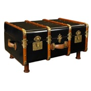 Authentic Models Stateroom Trunk; Black