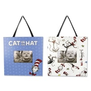 Trend Lab Dr. Seuss 1 Fish 2 Fish Dr. Seuss Picture Frame (Set of 2); Cat in the Hat