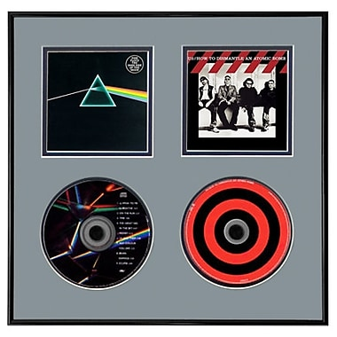 That's My Ticket Double CD Picture Frame; Red