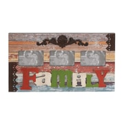 Woodland Imports Wood and Metal Wall Picture Frame