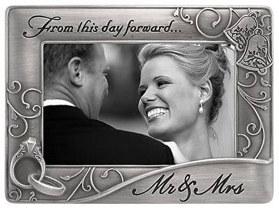 Malden Mr. and Mrs. Waves Picture Frame