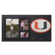 Fan Creations NCAA Key Holder w/ Picture Frames; Miami