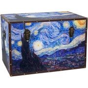 Oriental Furniture Van Gogh's Starry Night Trunk