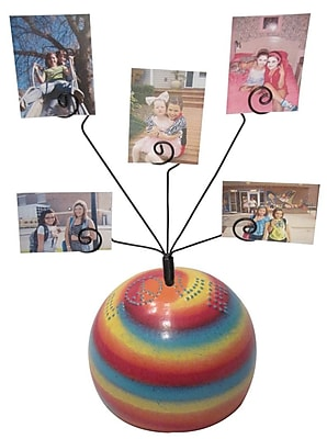 Metrotex Designs Girly Chic Tie Dye LOVE Table Photo Bubble WYF078276698905