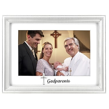 Malden Godparents Charms Picture Frame