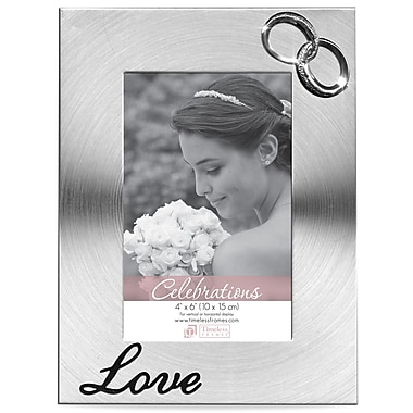Timeless Frames Love and Rings Picture Frame