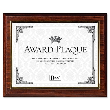 DAX MANUFACTURING INC. Insertable Plaque Picture Frame
