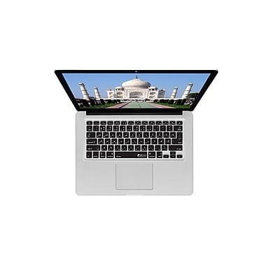 KB Covers Persian/Farsi Keyboard Cover For MacBook, Black/Clear