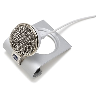 Blue Microphones Snowflake Wired USB Microphone, Gray