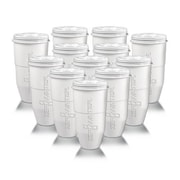 Zero Water® ZR012 Water Filtration Pitcher, White, 12 Pack
