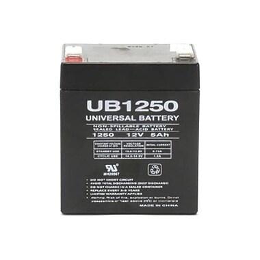 eReplacements UB1250-ER Sealed Lead Acid Battery, 5000 mAh