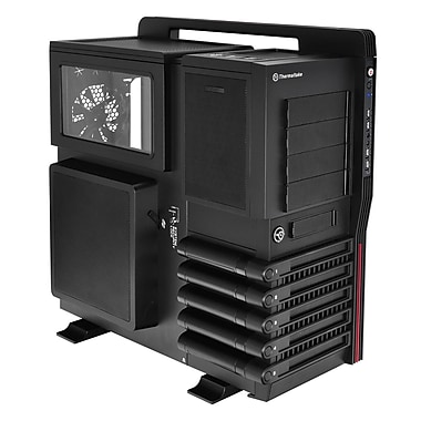 Thermaltake® Level 10 GT ATx Full Tower Computer Case, Black