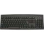 Solidtek KB260BUSP Wired Standard Keyboard, Black