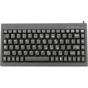 Solidtek® KB-595BP PS/2 Mini Keyboard, Black