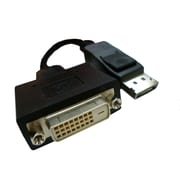 "Professional Cable DP-DVI 6"" DisplayPort to DVI-D Adapter Cable, Black"