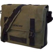 "Mobile Edge Eco Friendly Canvas Messenger Bag For Laptops Up to 17.3"", Green"