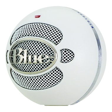 Blue Microphones Snowball Wired USB Microphone, White