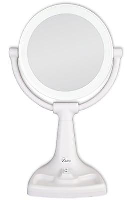 Zadro™ 10x/1x Max Bright Sunlight Vanity Mirror, White