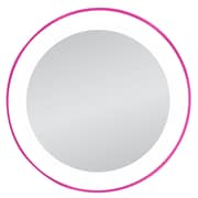 Zadro™ Next Generation™ 10x LED Lighted Spot Mirror, Pink