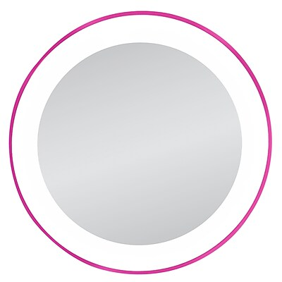 Zadro™ Next Generation™ 10x LED Lighted Spot Mirror, Pink