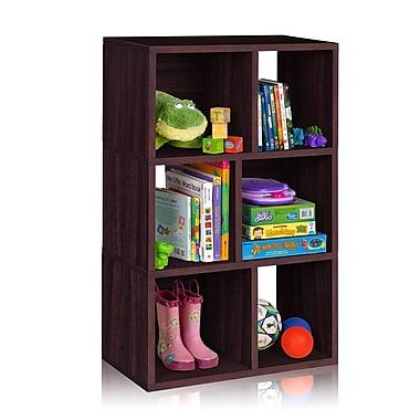 Way Basics Laguna 3 zBoard Recycled Paper Shelf Bookcase