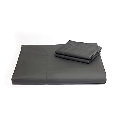Florence Queen Duvet Cover Set, Charcoal