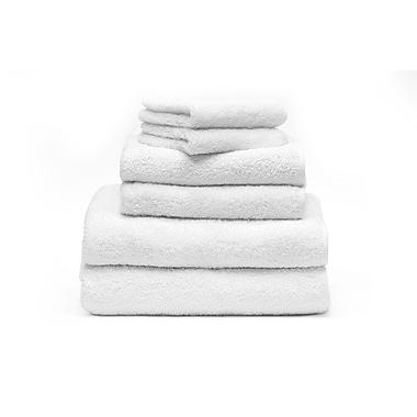 Ensemble de serviettes pour le spa, blanc