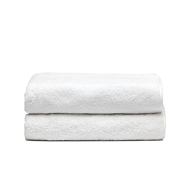 Spa Bath Sheets Set, White