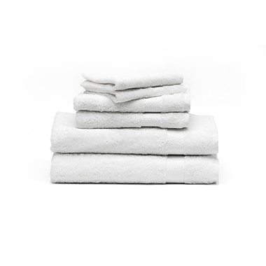Rayon from Bamboo Towels Set, White