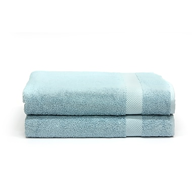 Rayon from Bamboo Bath Sheets Set, Water